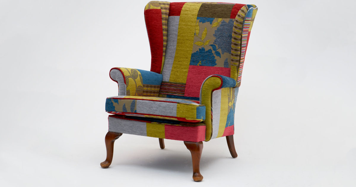 Loose Cover Parker Knoll Wing Chair Asnew Upholstery